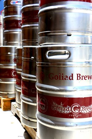 Goliad, TX: Kegs to be filled