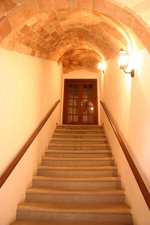 Agriturismo Tenuta di Corbara: Scala d'accesso al Casale Ogliata