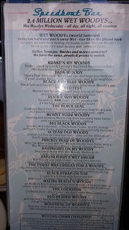 Carnelian Bay, Kalifornien: Gar Woods steamers and menu!