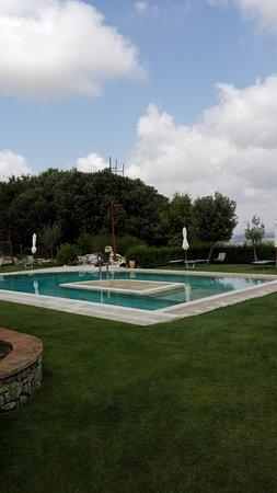Serre di Rapolano, Itália: piscina