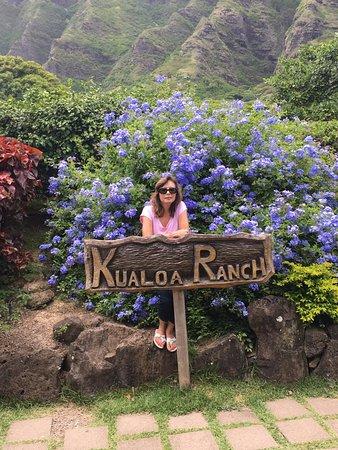 Kaneohe, HI: As you enter the park......