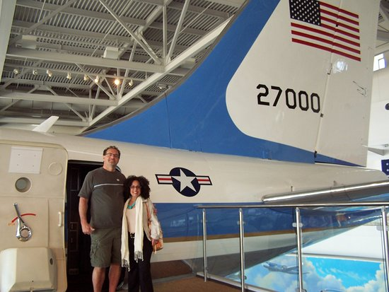 Simi Valley, كاليفورنيا: Reagan's Plane