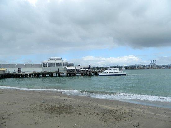 Devonport's ferry terminal