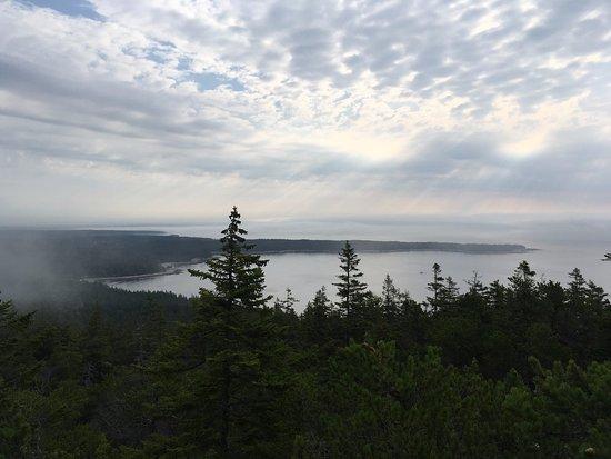 Winter Harbor, ME: View from Schoodic head
