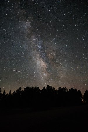 The sky during a new moon at Mancos State Park