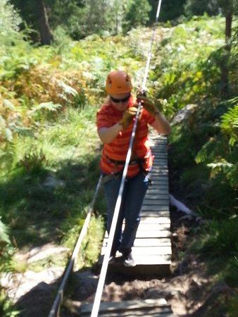 Aviemore, UK: me zip tracking