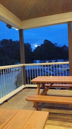 Fuquay-Varina, NC: Night out on the Draft Line patio