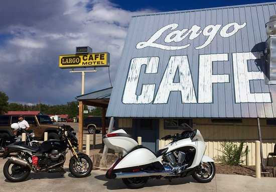 Quemado, Nuevo Mexico: We were attending a motorcycle rally in Datil, NM