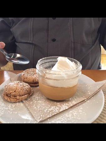 Petaluma, Kaliforniya: Butterscotch pudding