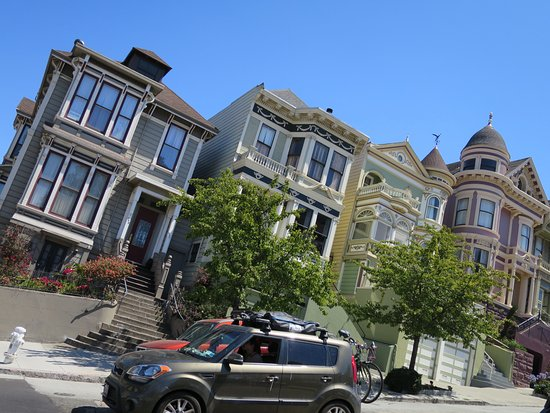 pacific heights some homes are built at an angle robin williams