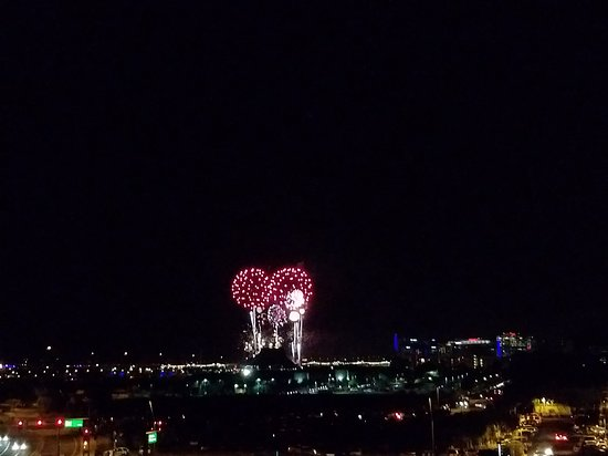 Hyatt Place Tempe/Phoenix Airport: View of Tempe's 4th of July Fireworks