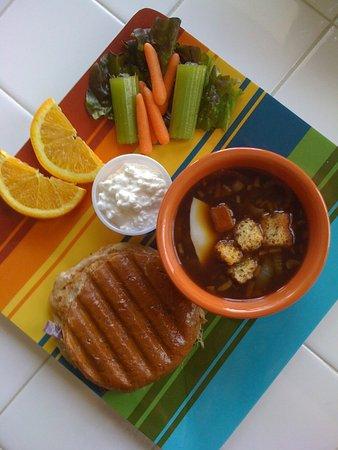 Ladysmith, WI: Lunch Special @ Village Parlor