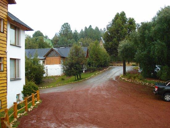 Hosteria La Balconada: Entrada principal.