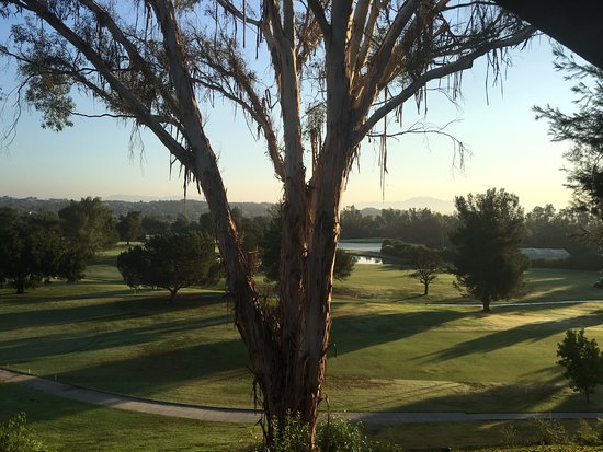 Temecula Creek Inn: View from 2nd floor balcony, Room 228