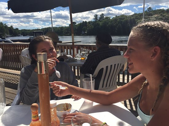 Port Carling, Kanada: Delish dessert !