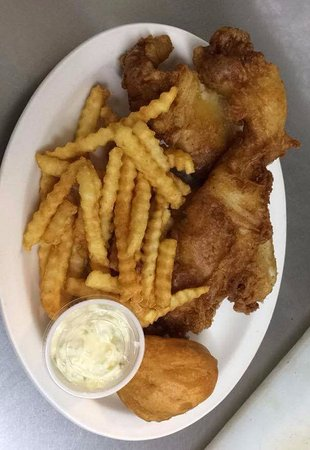 Ladysmith, WI: Fish Fry @ Back Door Cafe