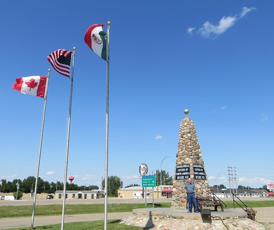 Rugby, ND: Geographical Center of North America