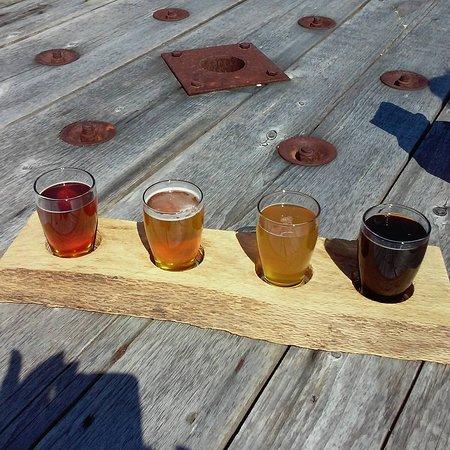 Cream Ridge, Nueva Jersey: Beer Flight