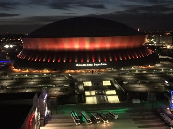Hyatt regency new orleans updated 2018 prices reviews for Mercedes benz superdome parking prices
