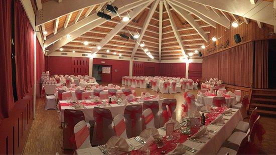 Morges, Schweiz: Auberge de Montherod Salle pour cerimonie