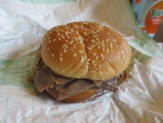 Νιούαρκ, Καλιφόρνια: Roast Beef Sandiwch, Arbys, CA