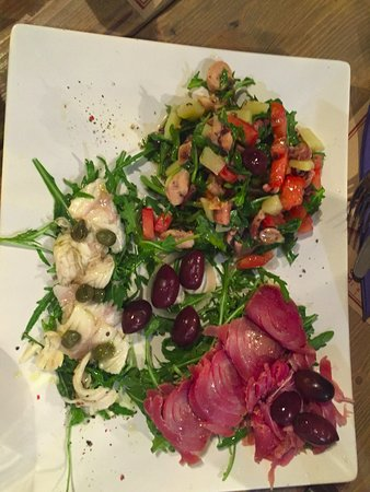 Sipanska Luka, Kroatien: Fish appetizer