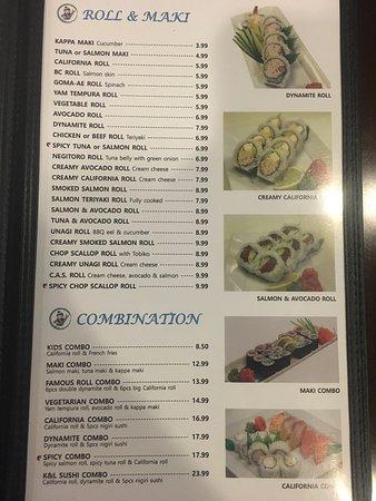 Hinton, Kanada: K&L Sushi
