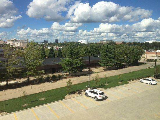 Champaign, IL: Window view of U of I campus