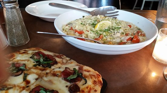 Pastabilities: Linguine with Garlic Clam Sauce and Duck Bacon Flatbread Pizza