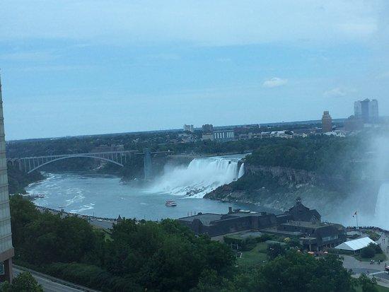 Niagara Falls Marriott Fallsview Hotel & Spa: Breathtaking view