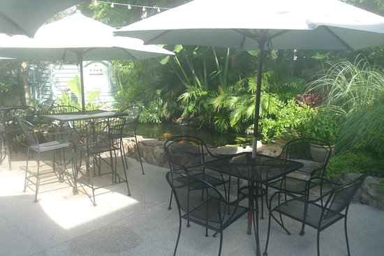 The Kenwood Inn: View from the rear porch (breakfast area)