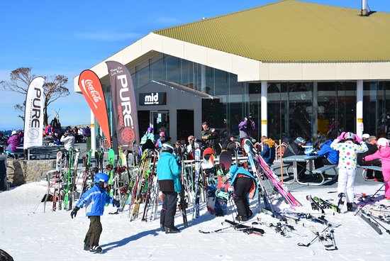Perisher Valley, Australia: Perisher's most popular on mountain venue