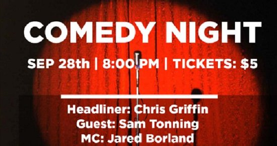 Langley City, كندا: September 28th, Hilarity Ensues at Townhall Langley's Comedy Night!