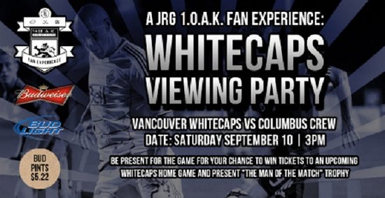 Townhall Maple Ridge's OFFICIAL WHITECAPS VIEWING PARTY!