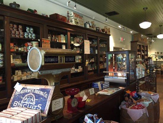 Dandridge, TN: Inside of old timey store-gift shop.