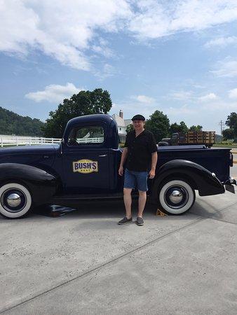 Dandridge, TN: Me by the old truck