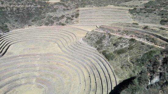 Maras, Peru: Vista generale