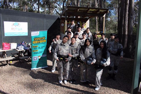 Delta Force Paintball, Sydney: our team