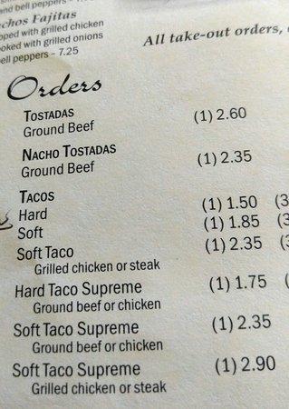 Reidsville, NC: Monterrey Mexican Restaurant