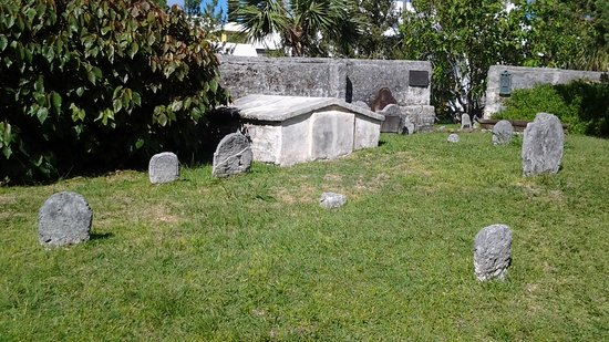 St. George, Bermuda: It is very interesting to read the grave markers and old metal poastings.