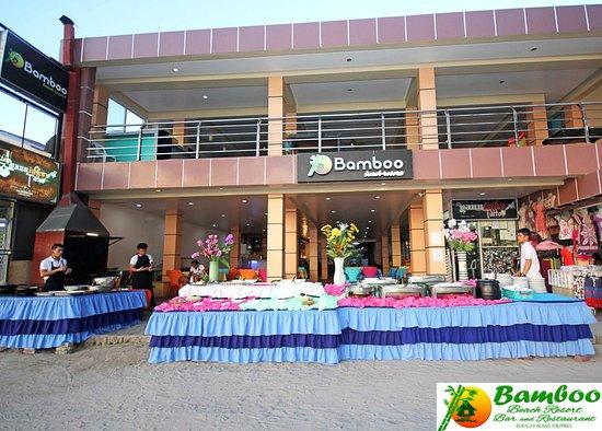 Bamboo Beach Resort Boracay Buffet