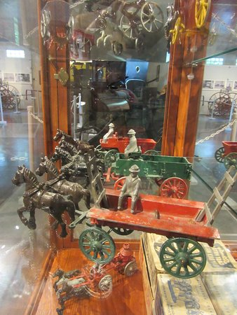 Stanley Toy Company of Oconto made these cast-iron toys.