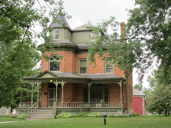 The Beyer Home on Park Avenue in Oconto.