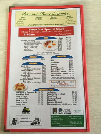 Atoka, OK: Bledsoe's Diner
