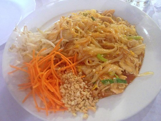 Baytown, Teksas: Pad Thai with chicken