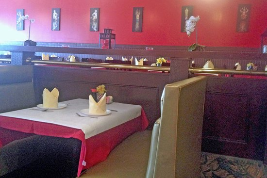Baytown, Teksas: Nara Thai Dining Room