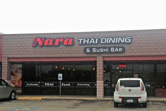 Baytown, Teksas: Exterior of Nara Thai