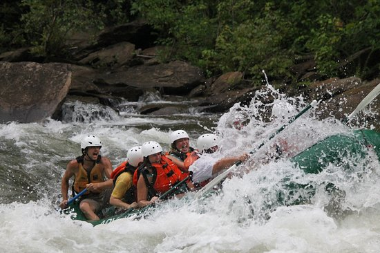 Ocoee, TN: In a rapid!