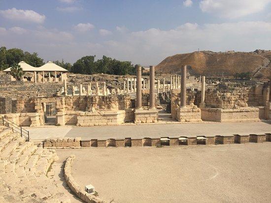 Beit She'an, Israel: Ruinas da cidade