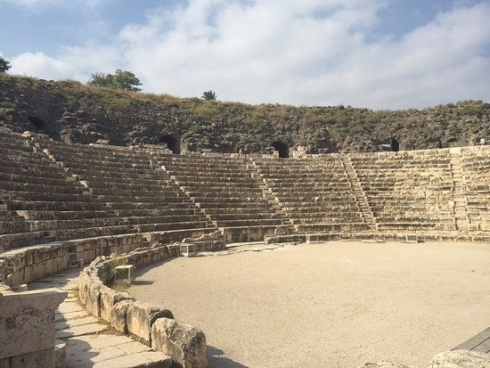 Beit She'an, Izrael: O anfiteatro